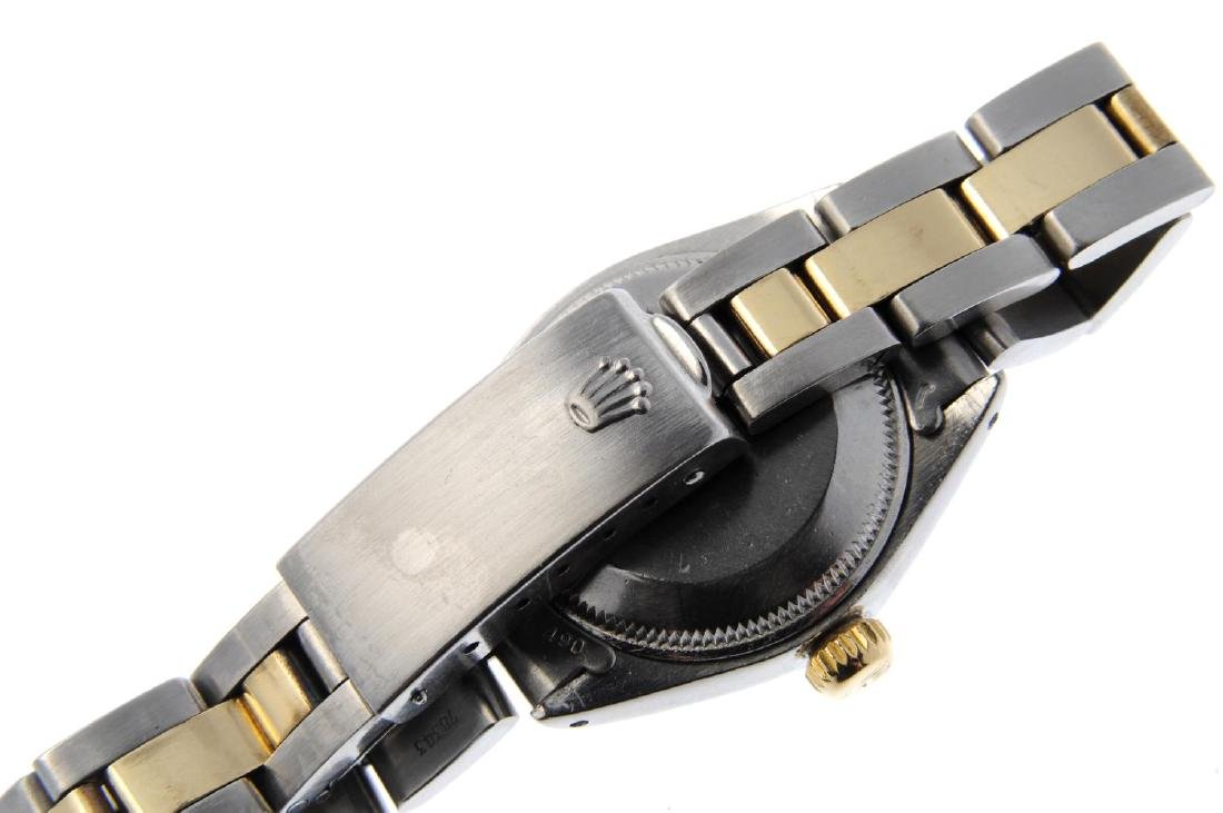 ROLEX - a lady's Oyster Perpetual Date bracelet watch. - 2