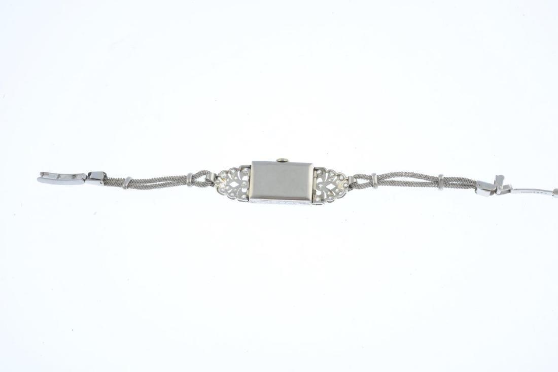 A mid 20th century lady's platinum diamond cocktail - 3