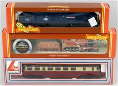 A selection of ten Hornby and 00 gauge model railway