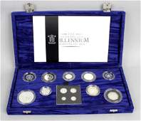 Elizabeth II Royal Mint Millennium Silver Collection