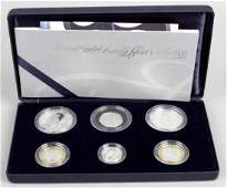 Elizabeth II Royal Mint Family Silver Collection