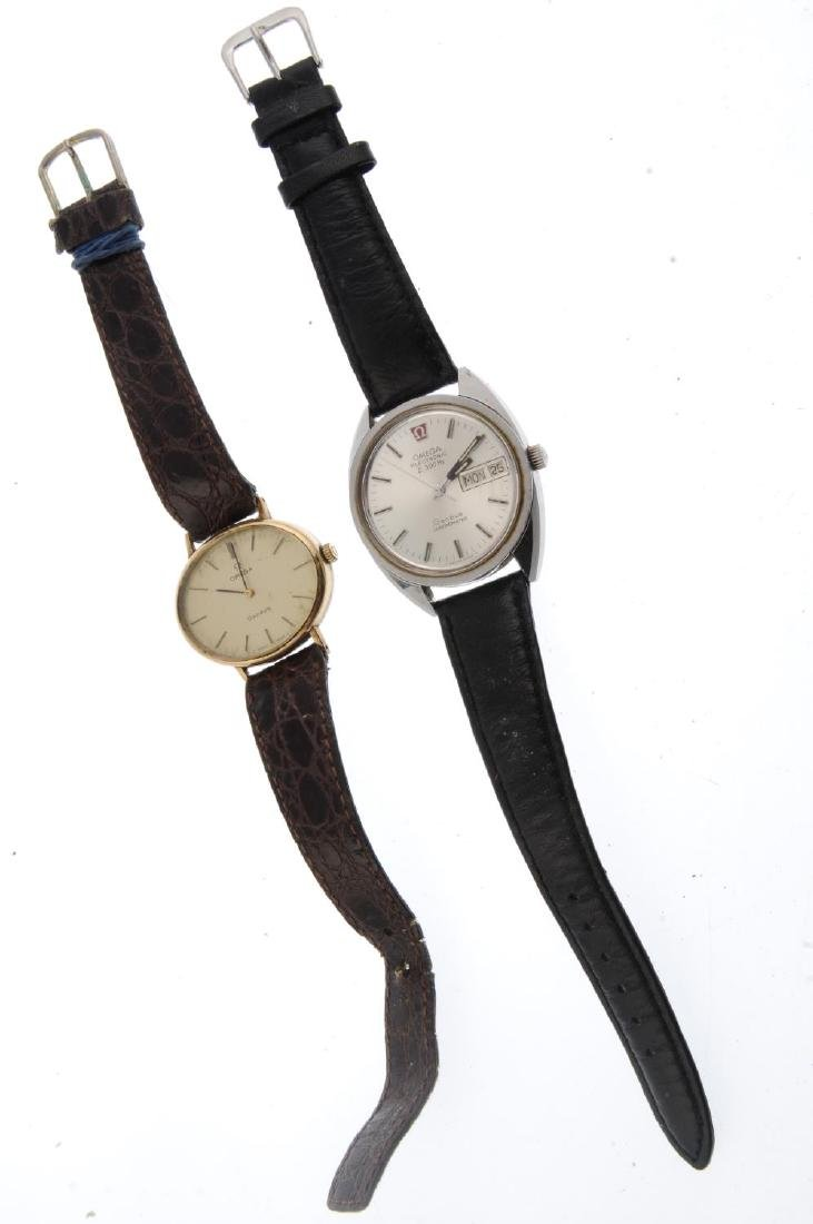 OMEGA - a gentleman's Genève bracelet watch. Stainless - 6