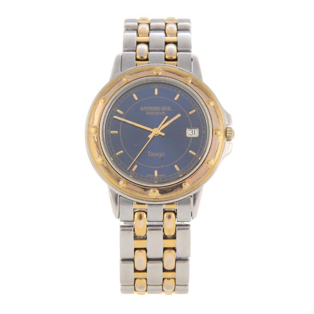 RAYMOND WEIL - a gentleman's Tango bracelet watch.