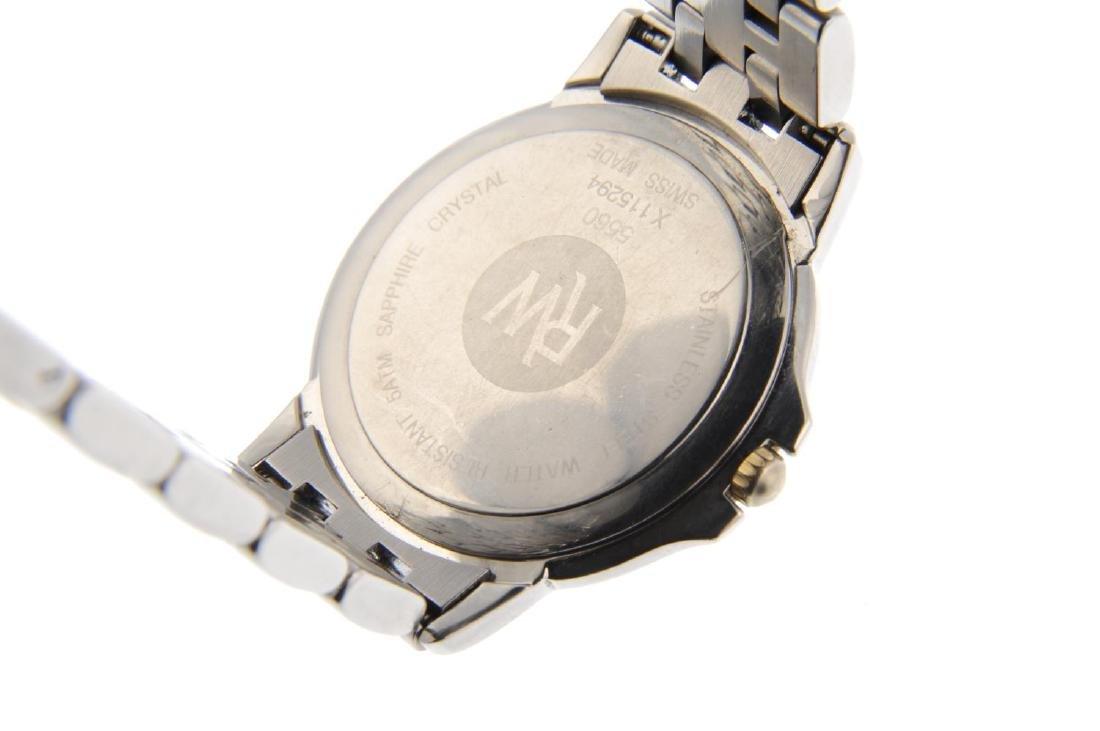 RAYMOND WEIL - a gentleman's Tango bracelet watch. - 4