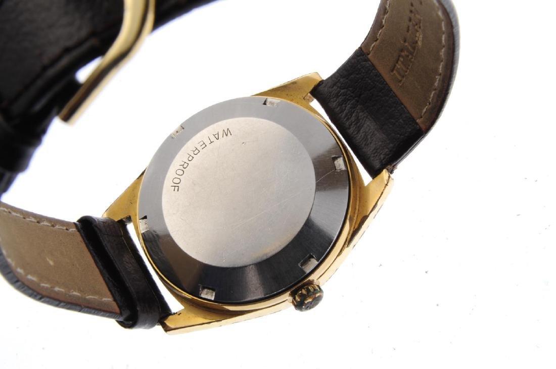 OMEGA - a gentleman's Genève wrist watch. Gold plated - 3