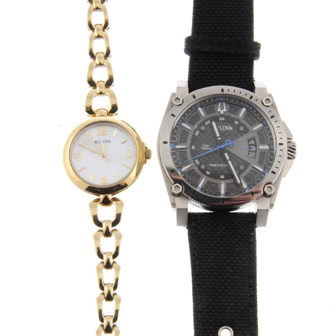 A bag of assorted Bulova watches. All recommended for