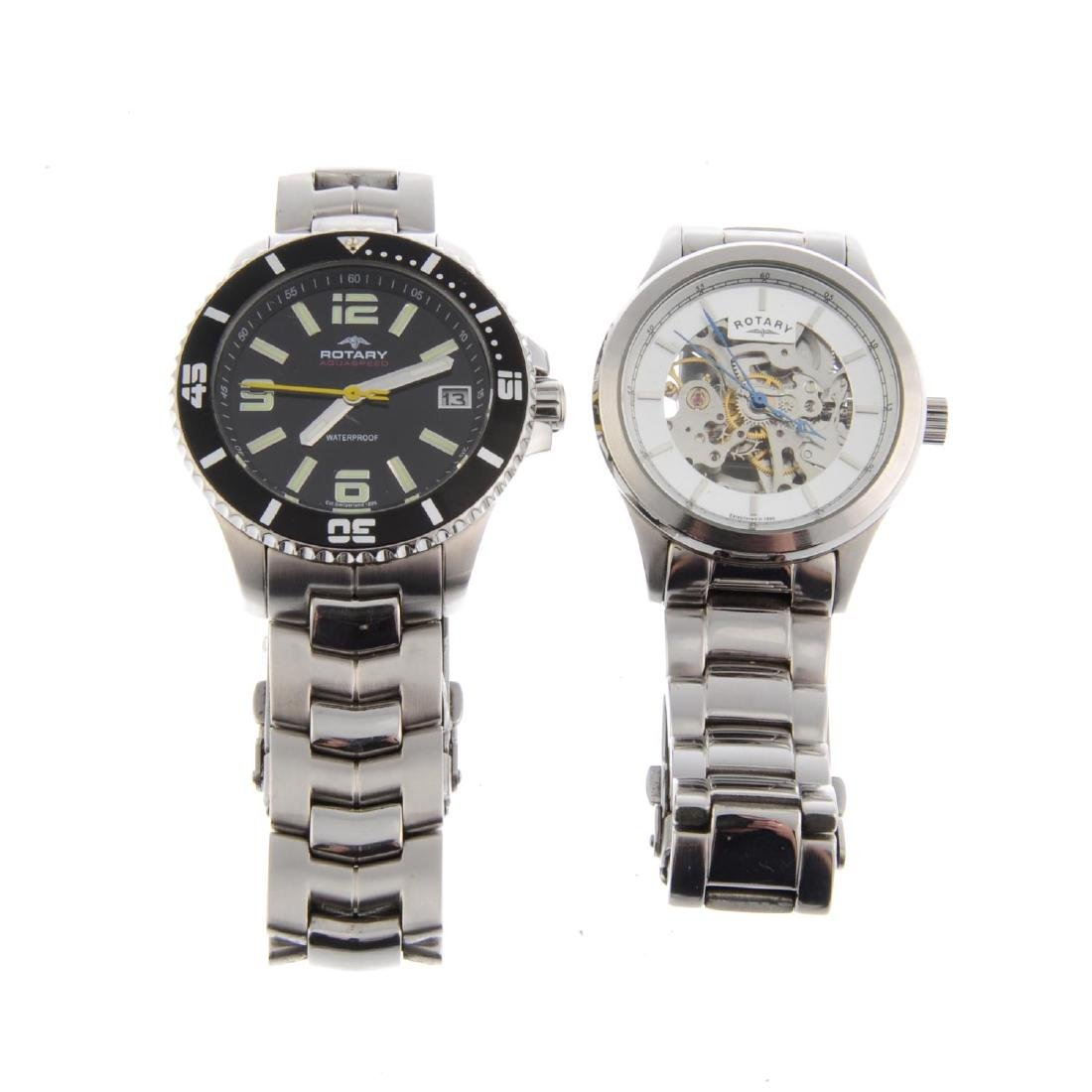 A bag of assorted Rotary watches. All recommended for
