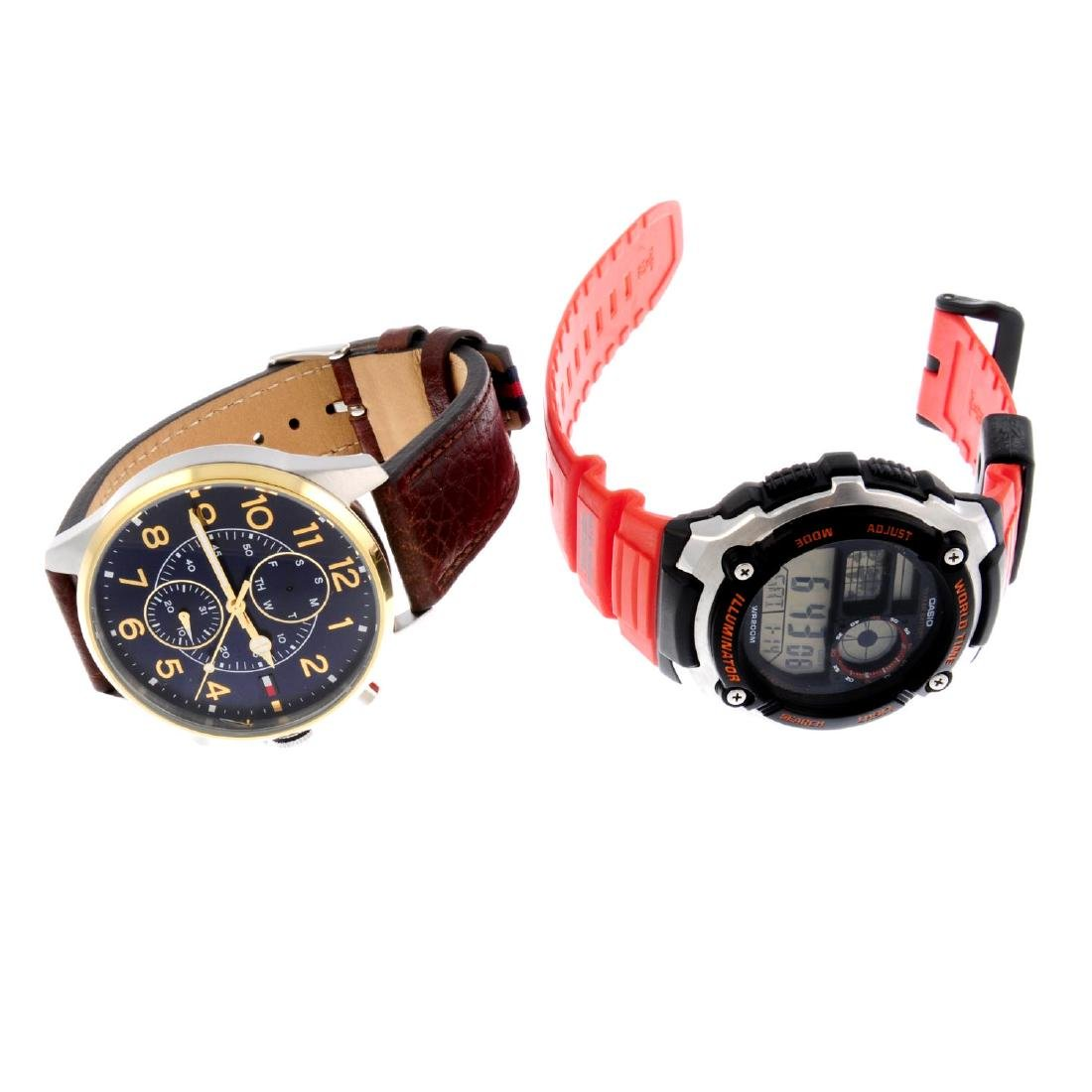A bag of assorted watches, to include examples by Tommy