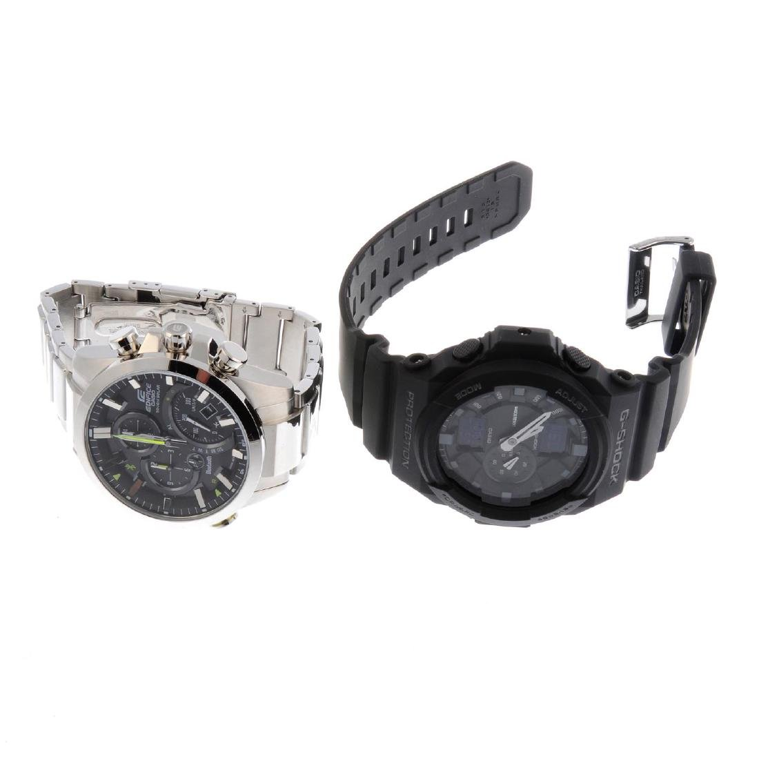 A bag of assorted watches, to include examples by Casio