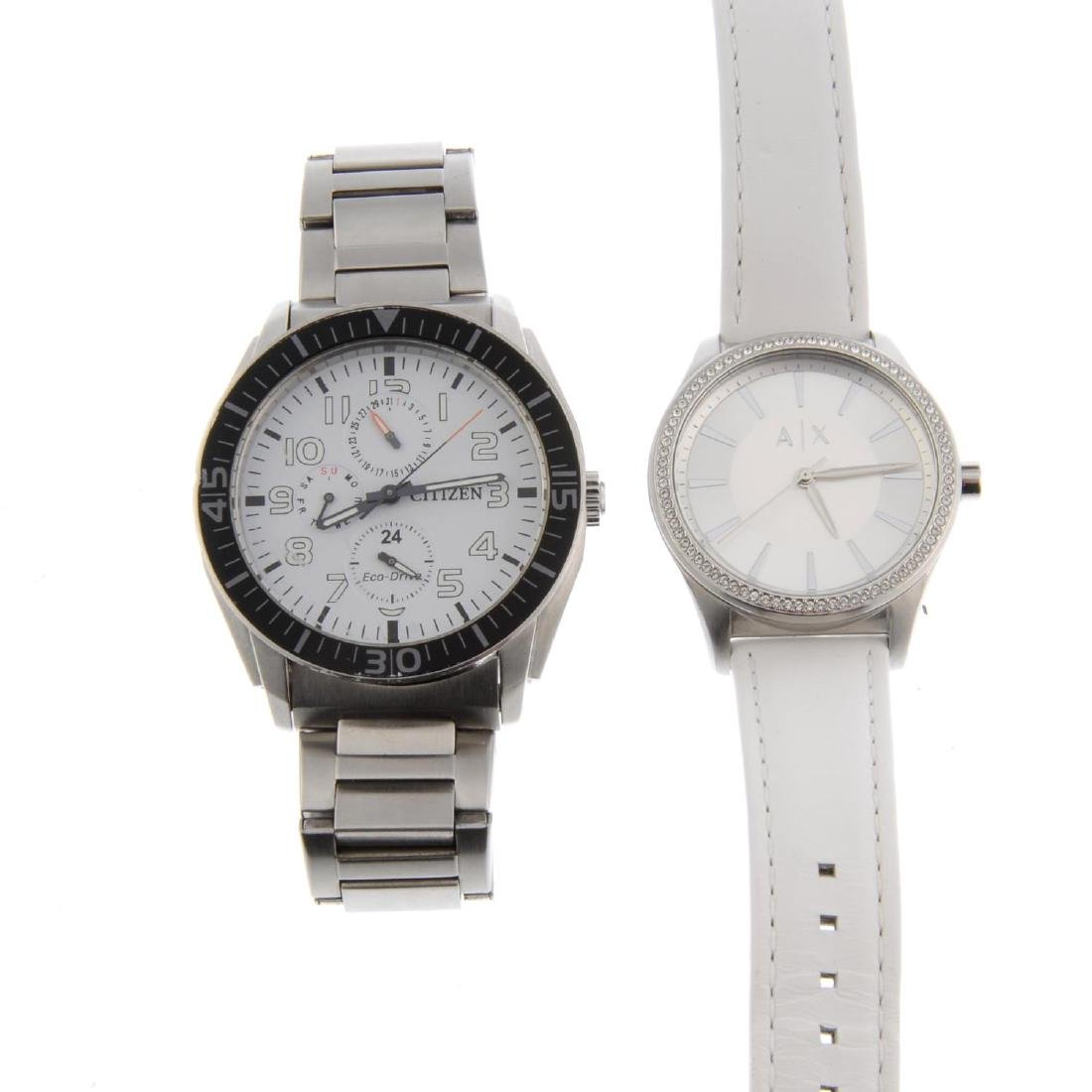 A bag of assorted watches, to include examples by