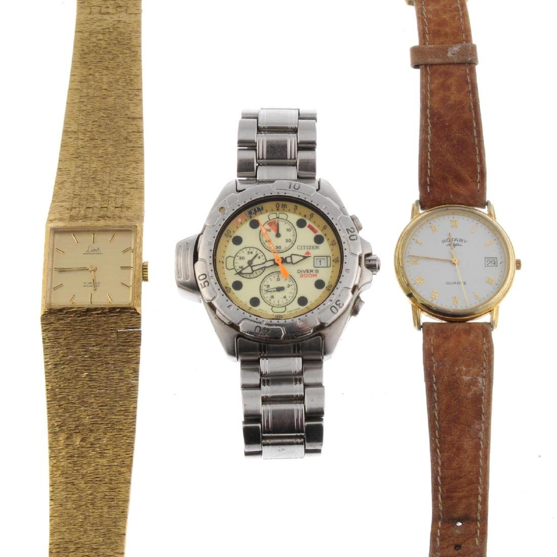 A group of assorted watches. All recommended for spares