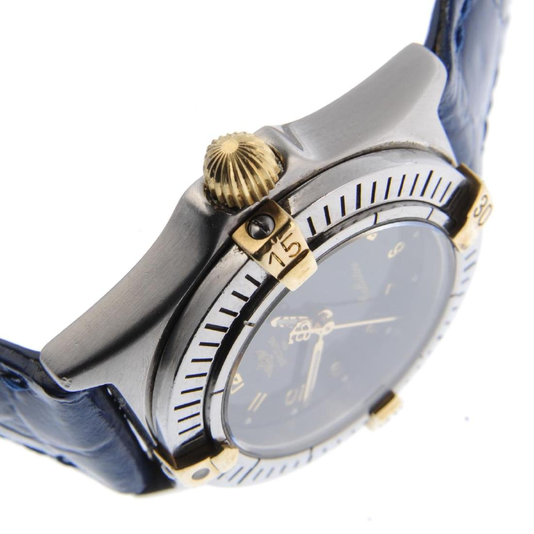 BREITLING - a lady's Callistino wrist watch. Stainless - 4