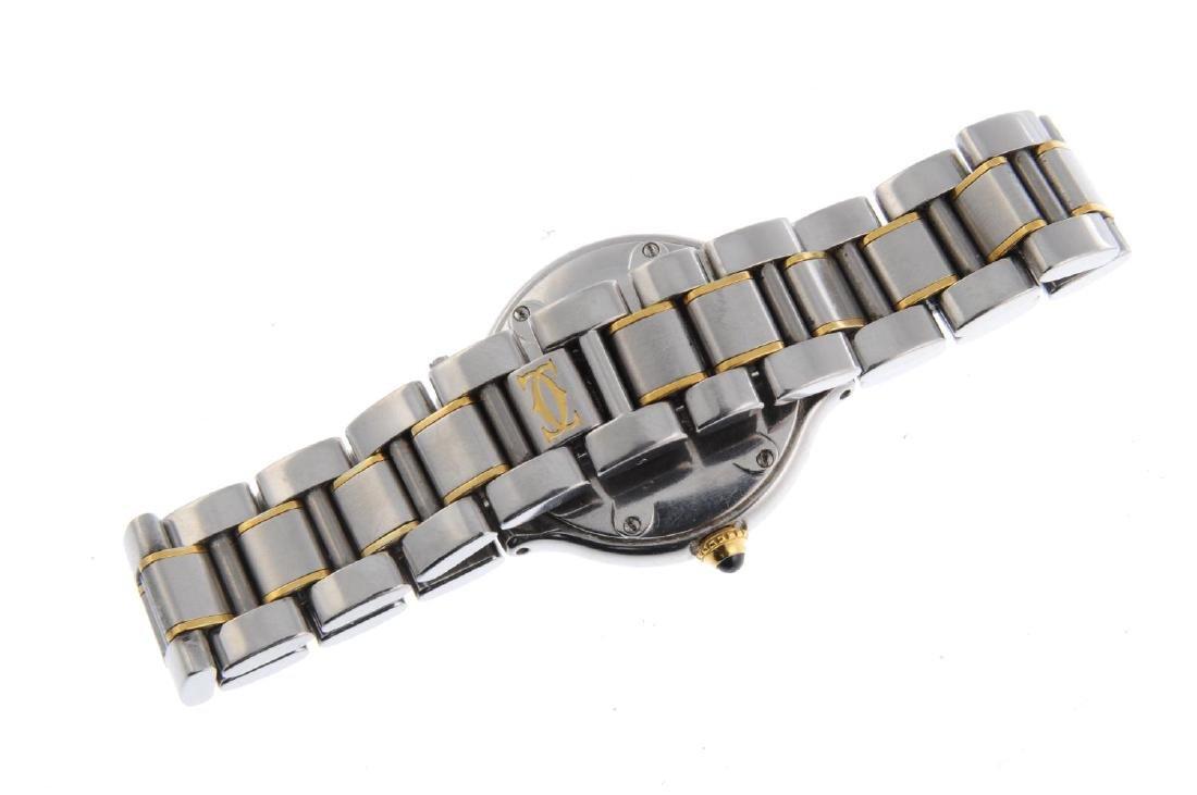 CARTIER - a Must de Cartier 21 bracelet watch. - 2