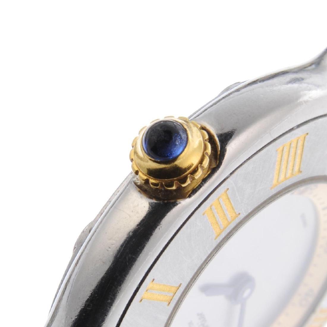 CARTIER - a Must de Cartier 21 bracelet watch. - 3