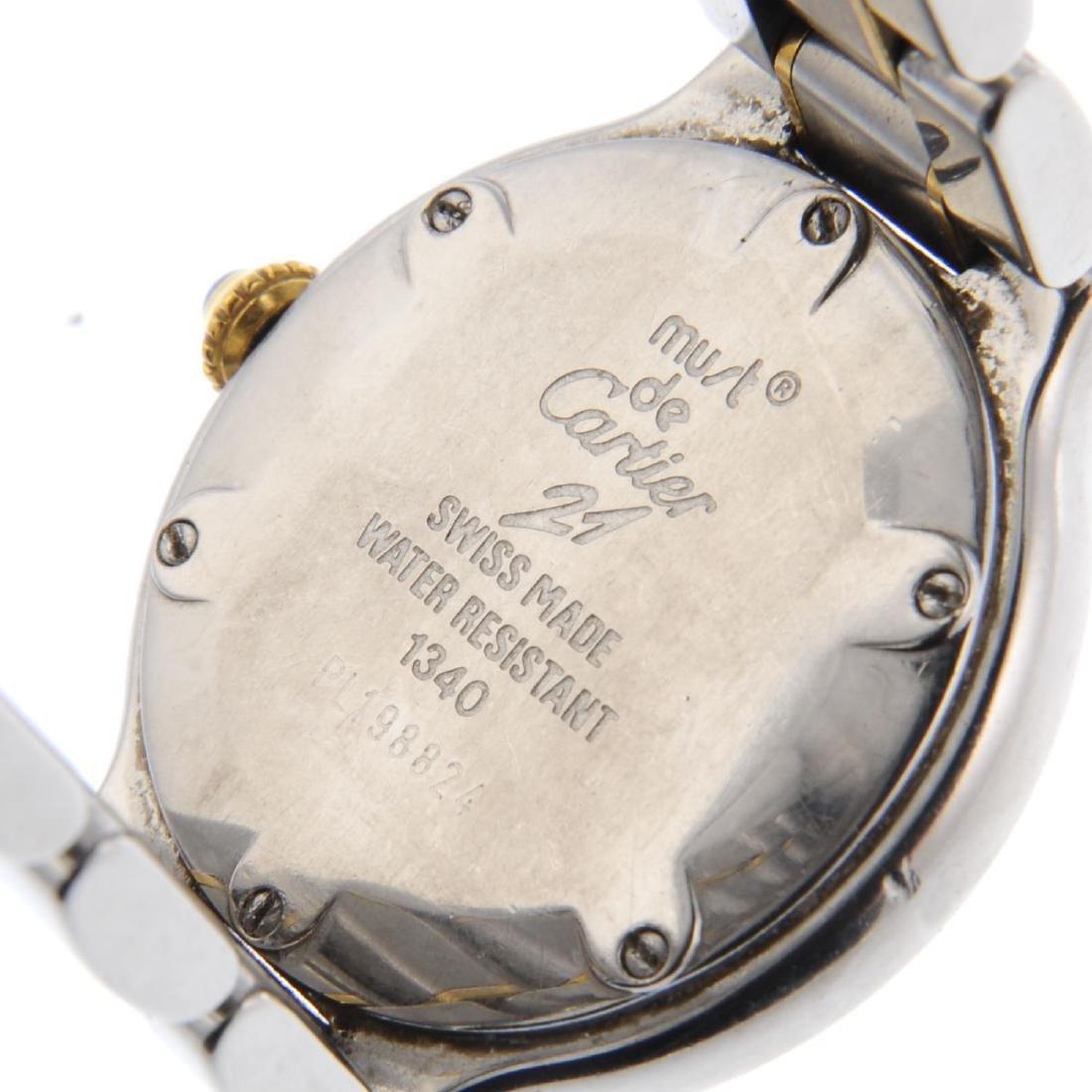 CARTIER - a Must de Cartier 21 bracelet watch. - 4