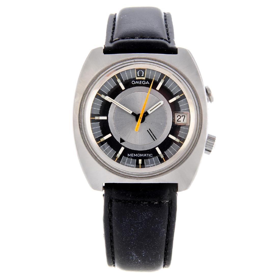 OMEGA - a gentleman's Seamaster Memomatic wrist watch.