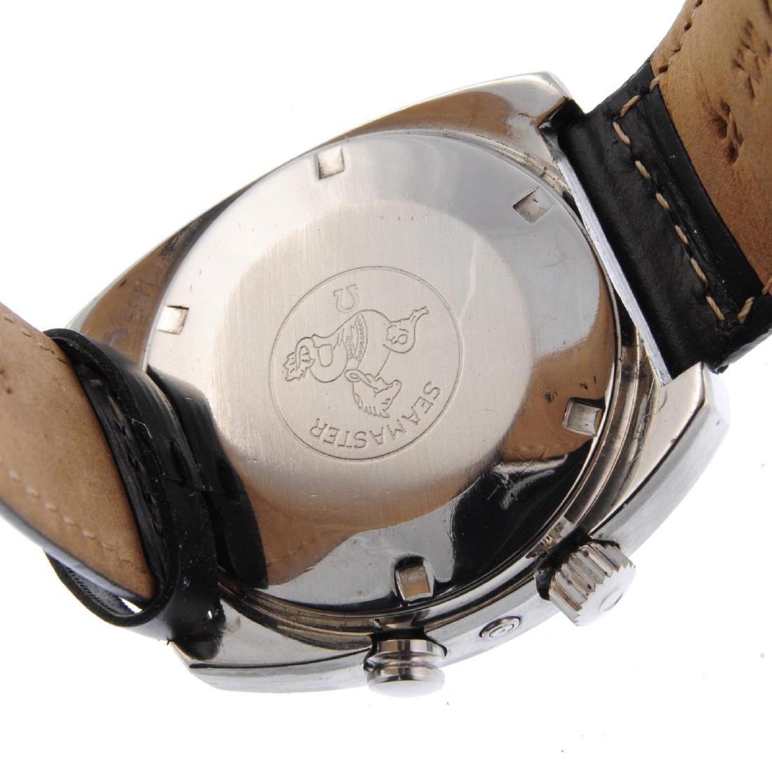 OMEGA - a gentleman's Seamaster Memomatic wrist watch. - 3