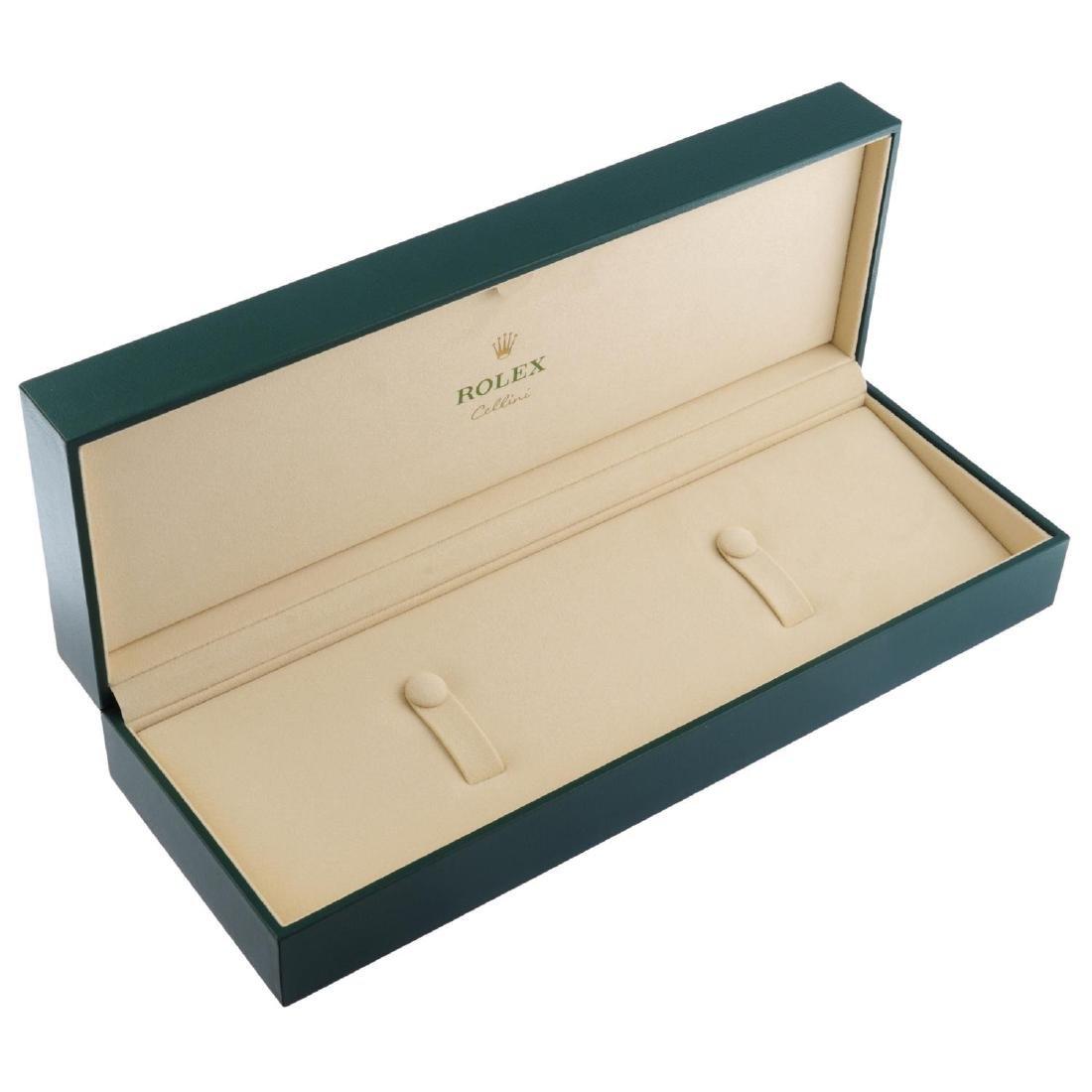 ROLEX - a complete Cellini watch box. - 2