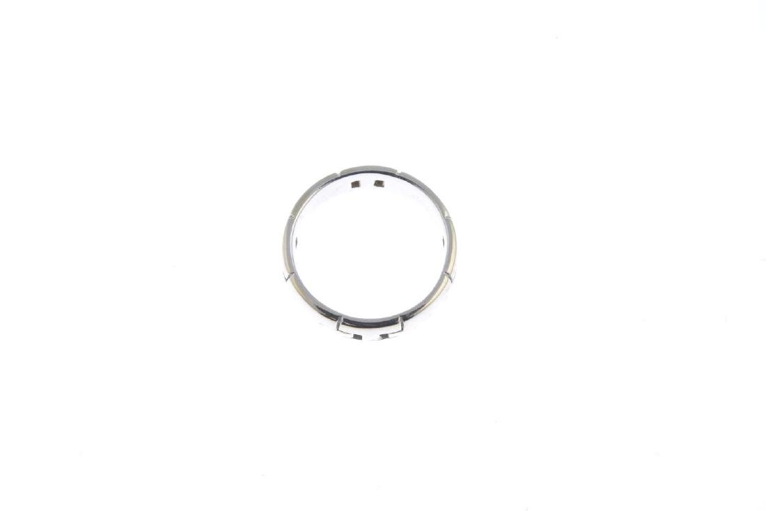 HERMES - a 'H' band ring. Designed as a wide band, with - 3