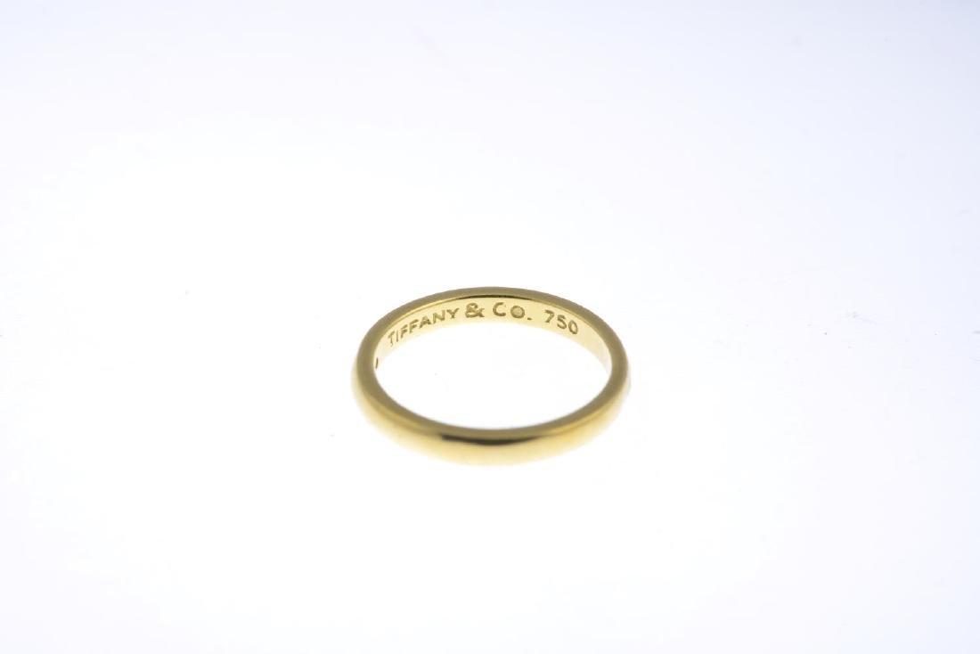 TIFFANY & CO. - a diamond band ring. The brilliant-cut - 2