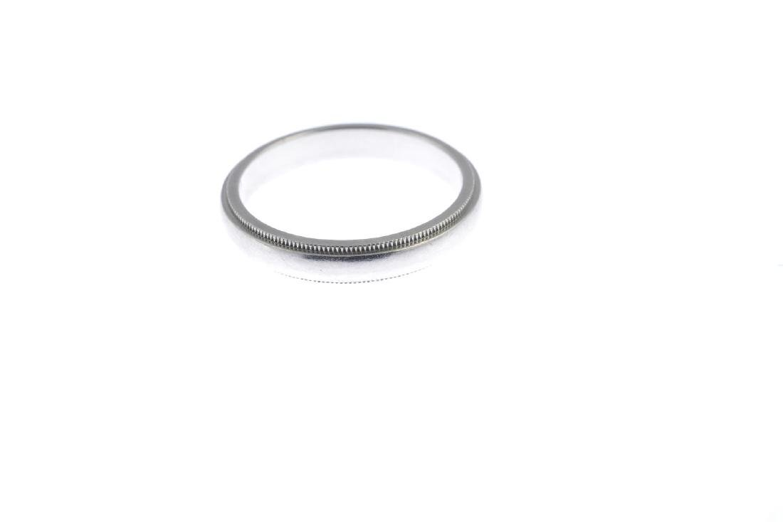 TIFFANY & CO. - a band ring. The plain band, with - 2