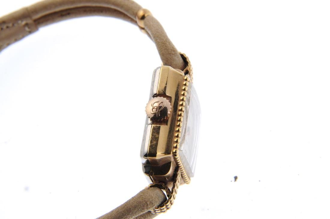 BREITLING - a lady's bracelet watch. Gold plated case - 4