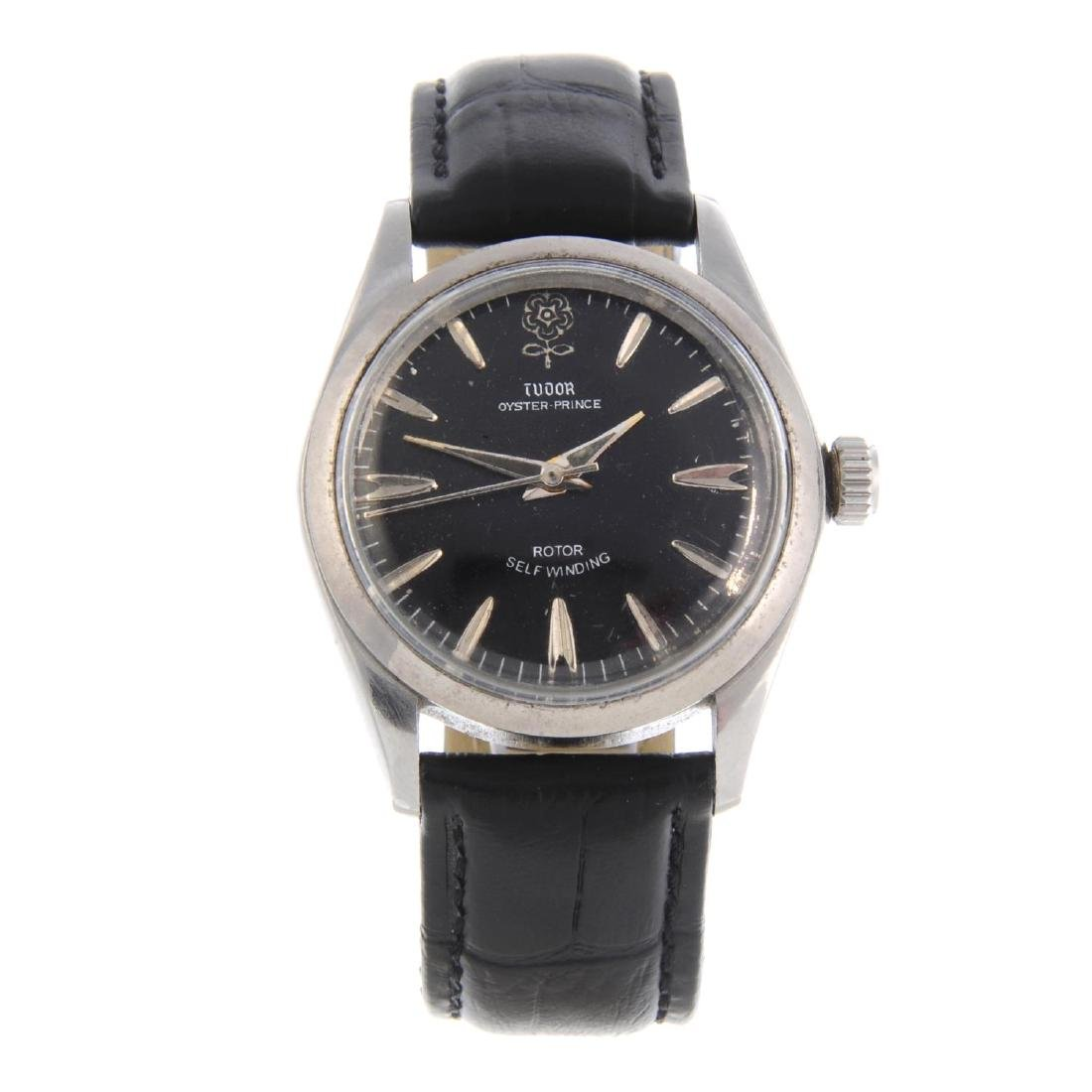 TUDOR - a gentleman's Oyster-Prince wrist watch.