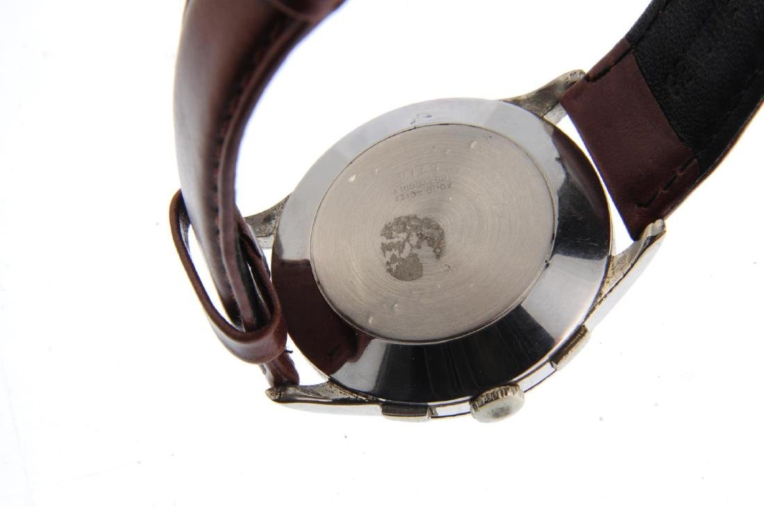A gentleman's chronograph wrist watch. Stainless steel - 3