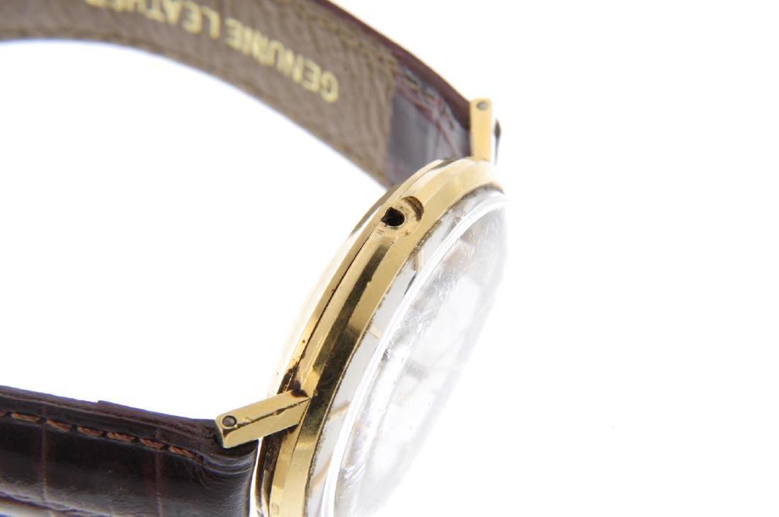 MOVADO - a gentleman's Kingmatic wrist watch. Yellow - 4