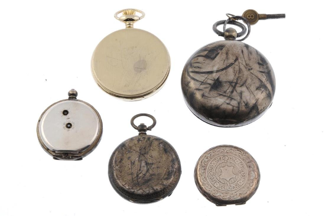 A group of four assorted pocket watches, to include - 2