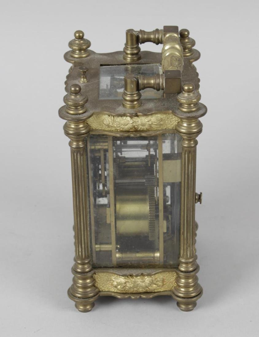 An early 20th century repeater carriage clock, the - 2