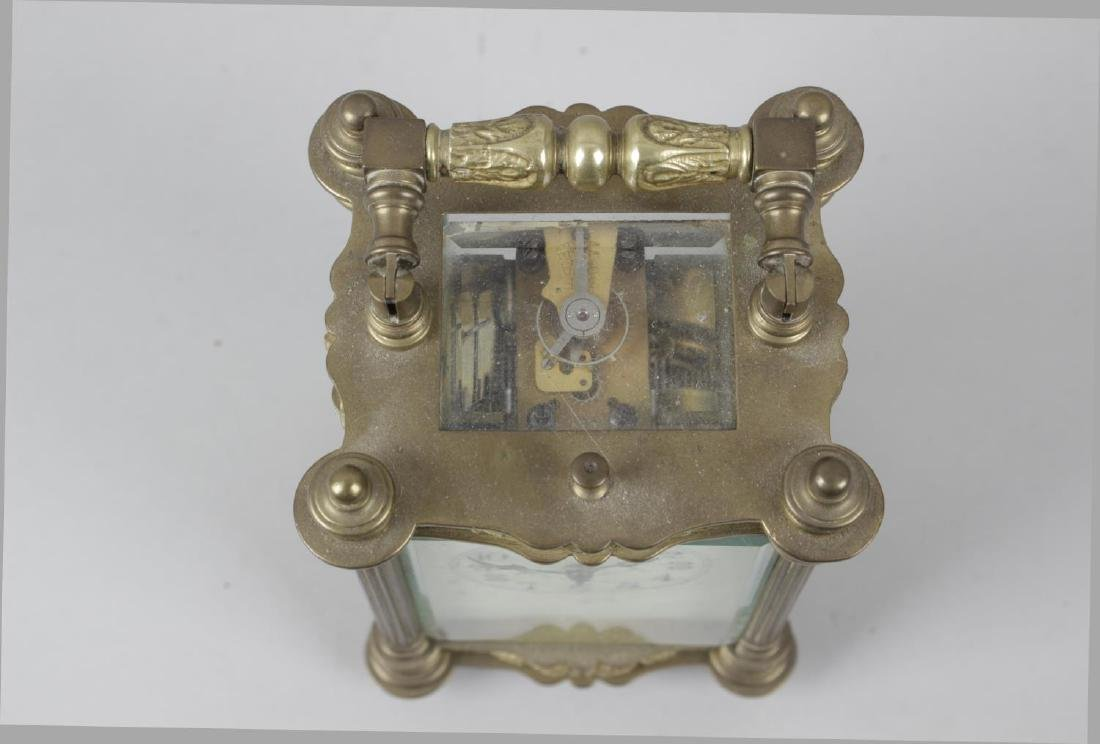 An early 20th century repeater carriage clock, the - 5
