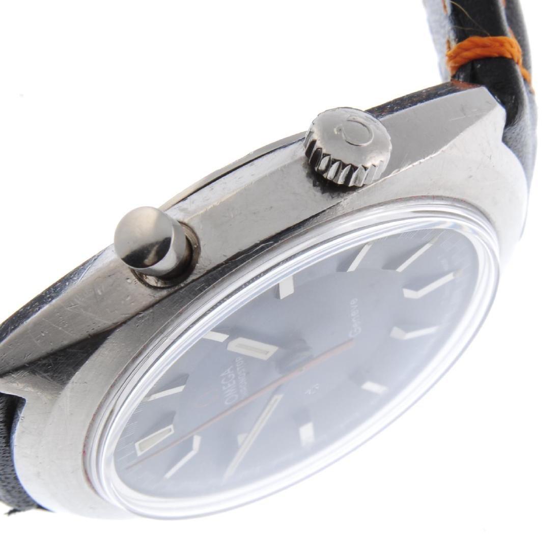 OMEGA - a gentleman's Chronostop wrist watch. Stainless - 3