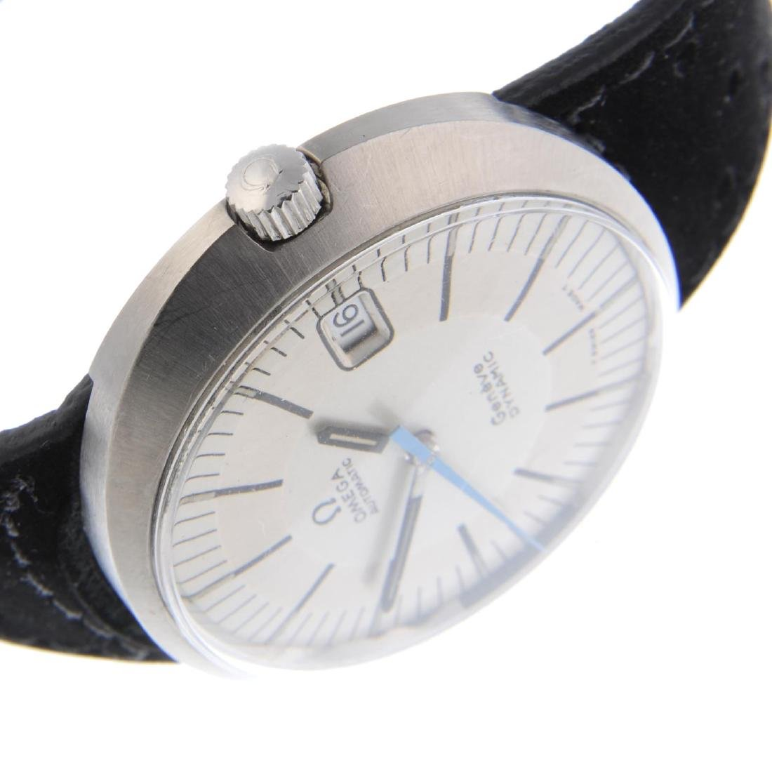 OMEGA - a gentleman's Dynamic wrist watch. Stainless - 4