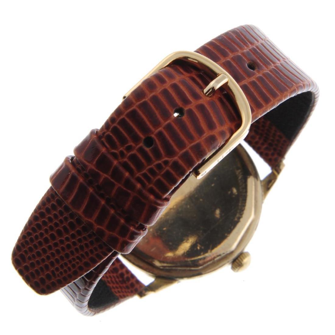 LECOULTRE - a gentleman's wrist watch. Gold filled - 2