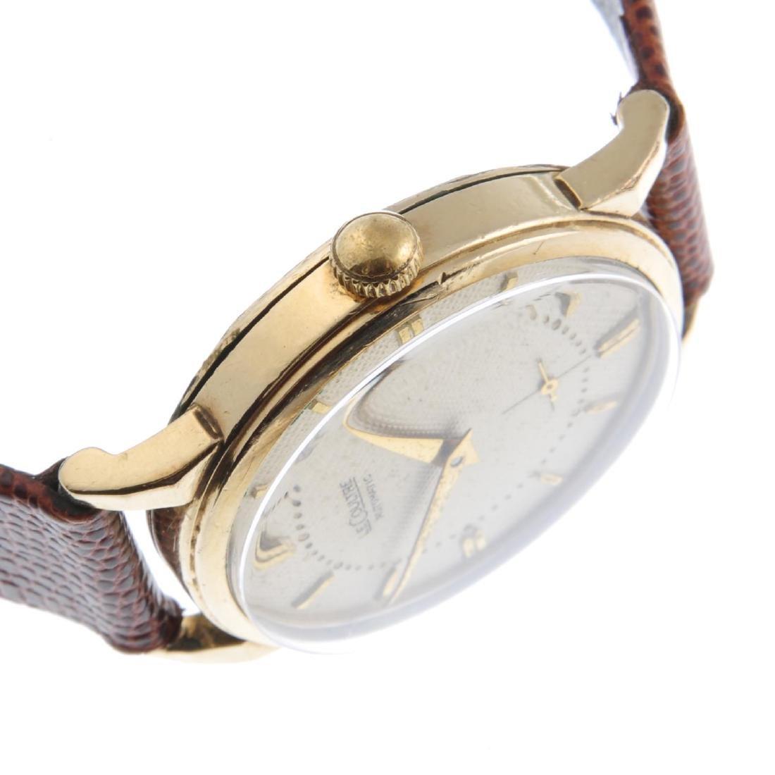 LECOULTRE - a gentleman's wrist watch. Gold filled - 3