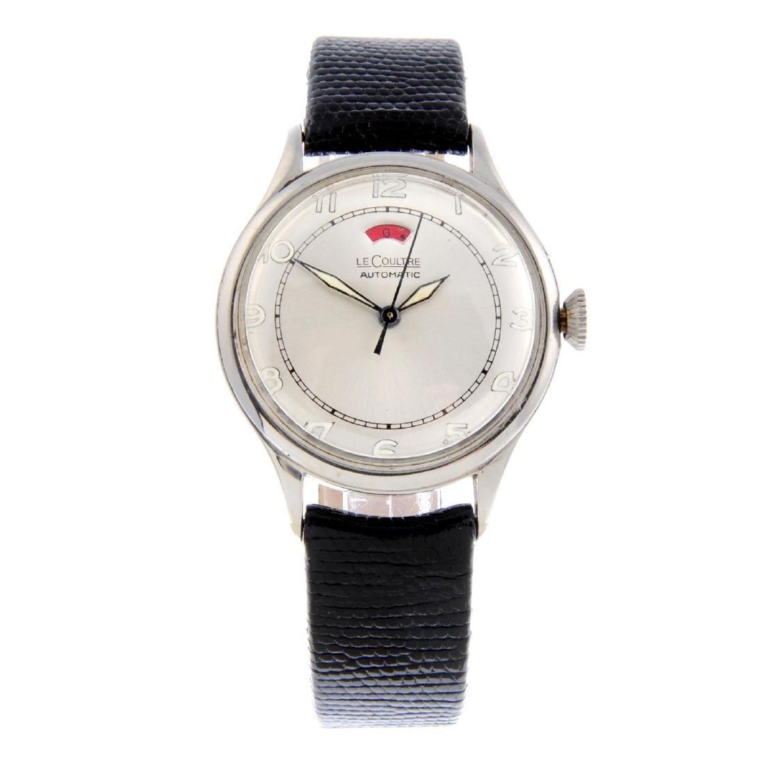 LECOULTRE - a gentleman's Power Reserve wrist watch.
