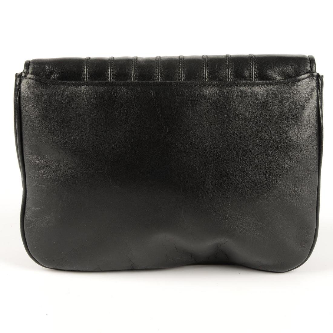 VALENTINO - a vintage leather crossbody handbag. - 2