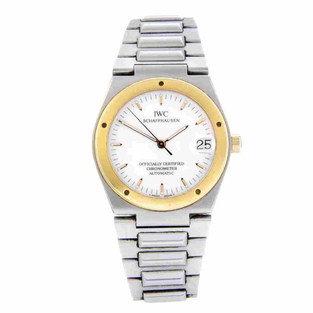 IWC - a gentleman's Ingenieur bracelet watch. Stainless
