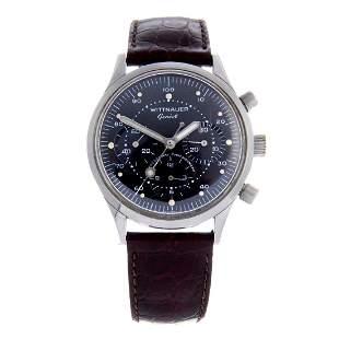 WITTNAUER - a gentleman's chronograph wrist watch.