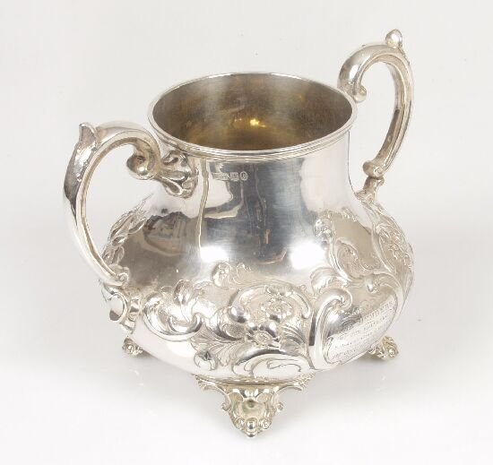 2009: A Victorian embossed sugar bowl of bulb