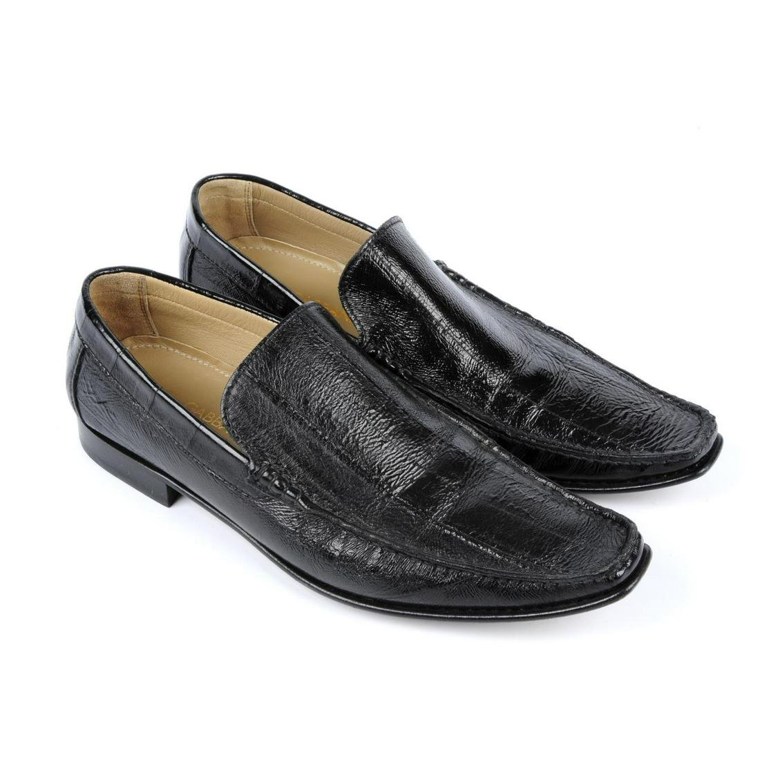 DOLCE & GABBANA - a pair of men's black loafers.