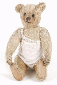 126: A 1920's Farnell 'Blonde' plush teddy be