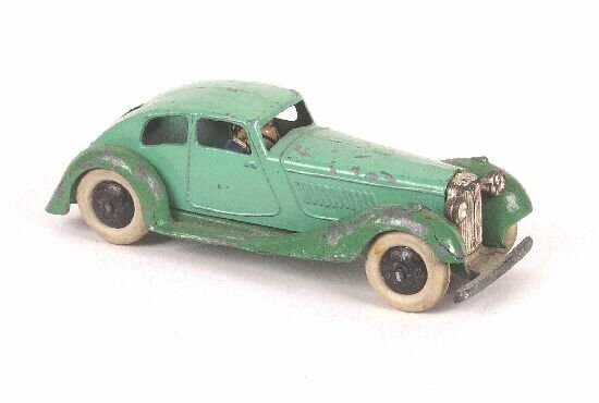 222: A rare early Dinky Toys diecast model no