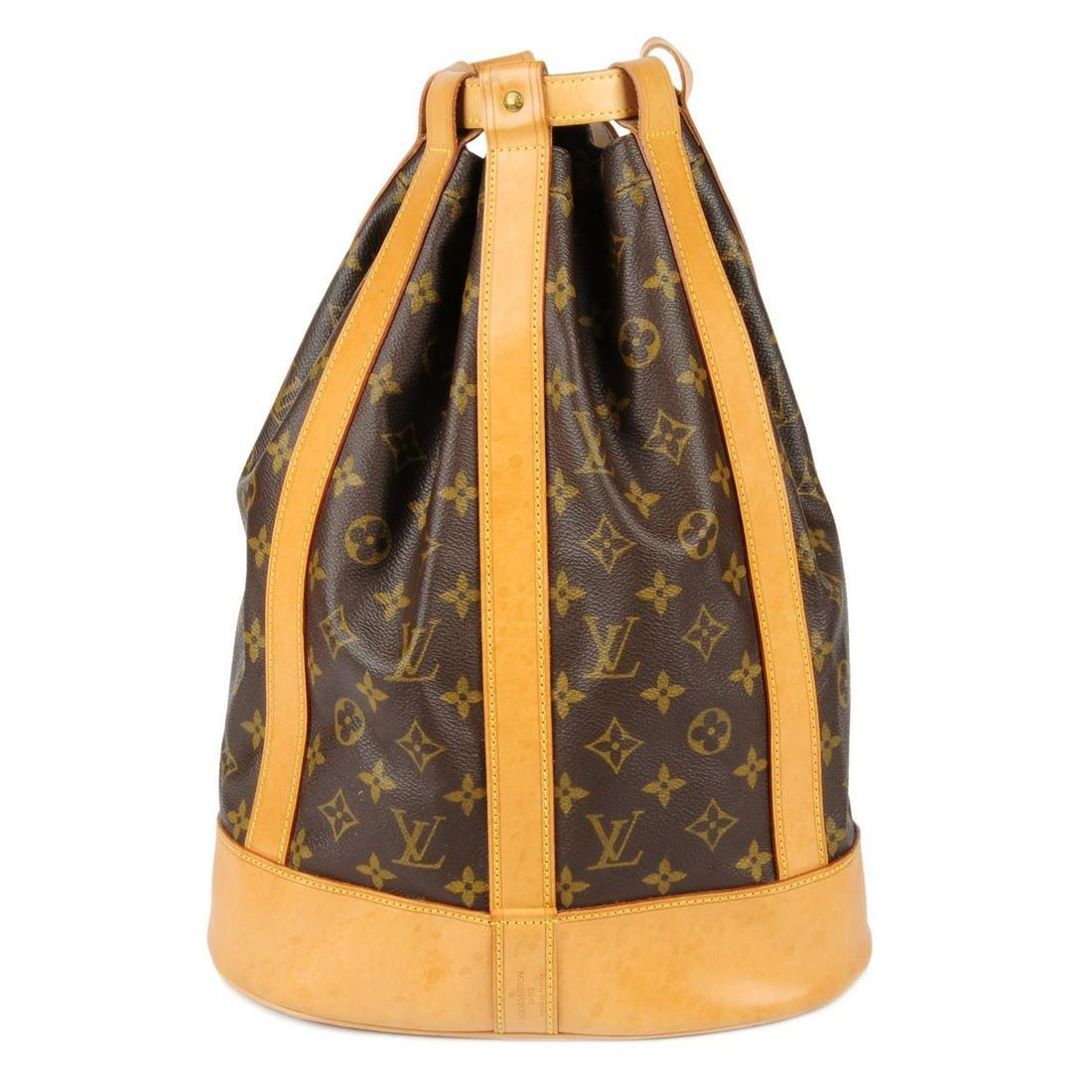 LOUIS VUITTON - a Monogram Randonnée PM backpack.