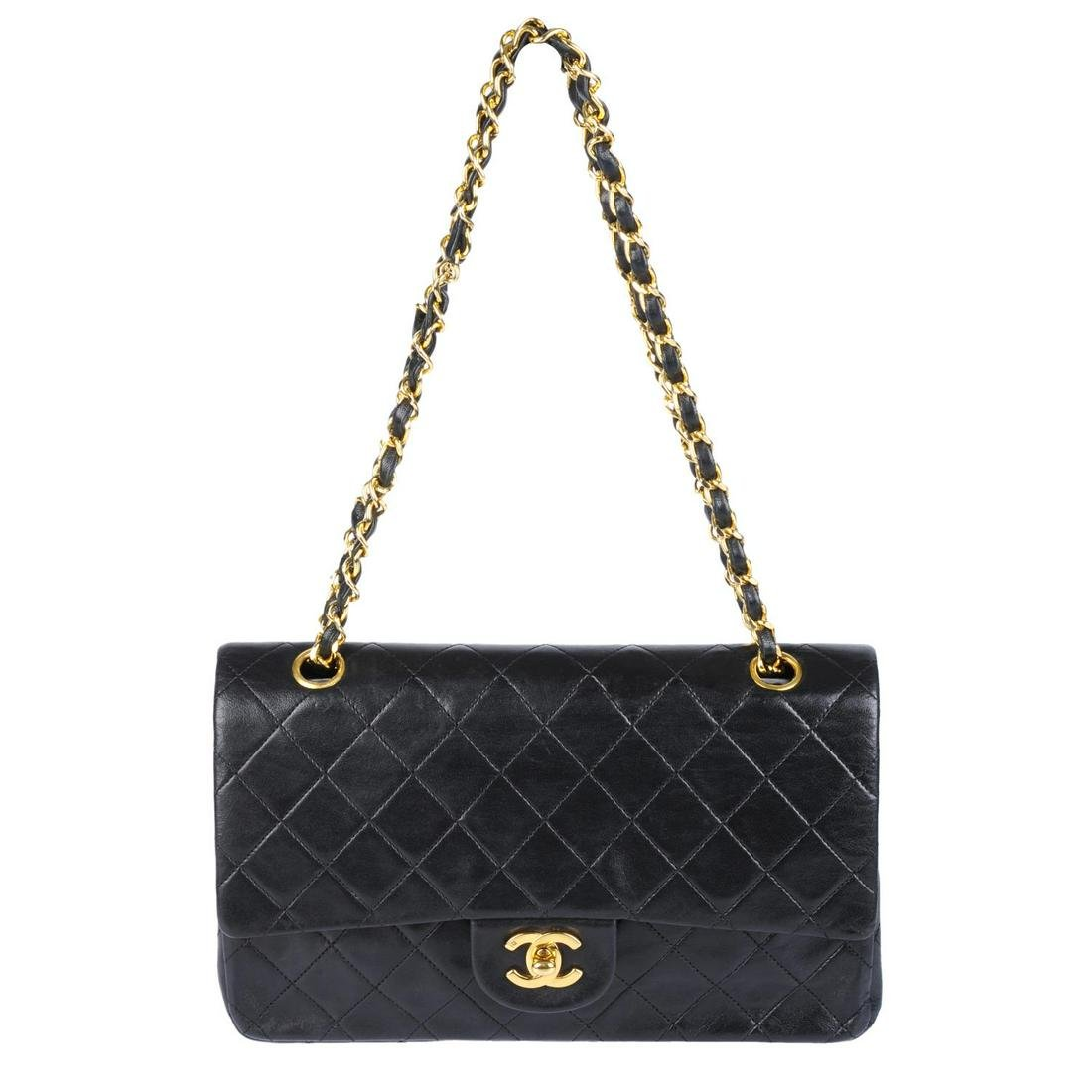 CHANEL - a vintage Medium Classic Double Flap handbag.