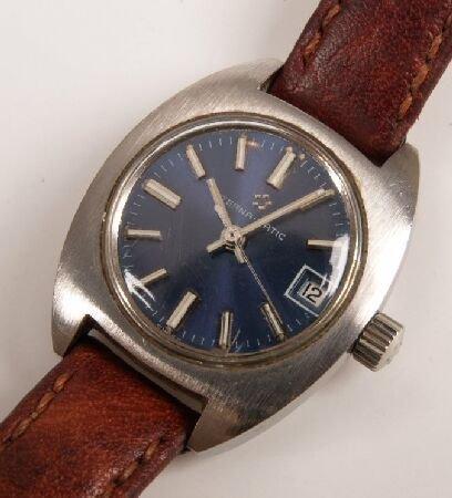 1022: ETERNA - a lady's steel cased Eterna-matic wristw