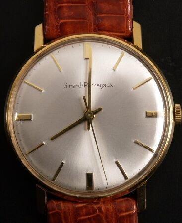 1024: GIRARD-PERRAGAUX - gentleman's mechanical wristwa