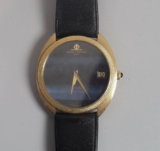 2001: BAUME & MERCIER - gentlemans gold autom