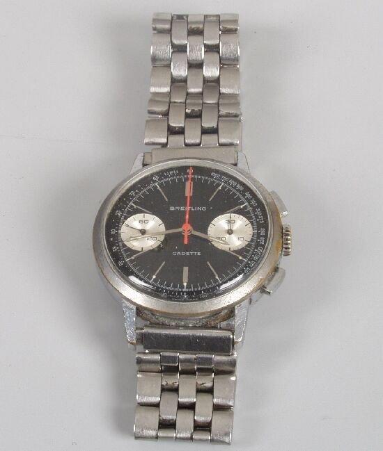2003: BRIETLING - gentleman's steel 1960's Ca